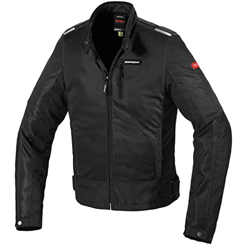 Spidi T230-026 S Solar Net Motorcycle Jacket S Black