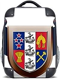 DIYthinker Das Nationale Emblem von Neuseeland Multi-Funktions-Leder-Mappen-Karten-Geldbeutel-Geschenk Mehrfarbig