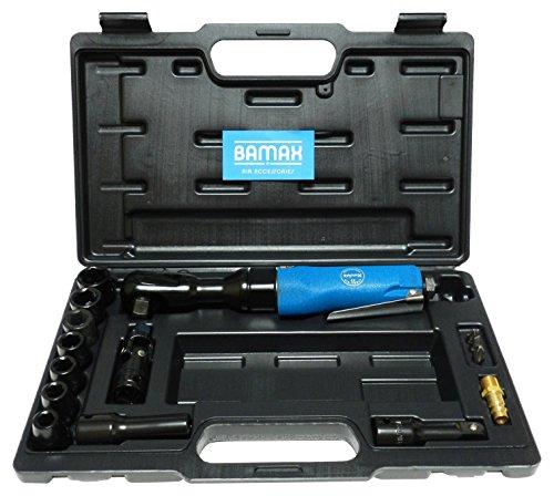 'bamax AT0054 Kit visseuse à cliquet, bleu, 1/2 semi-professionnelle