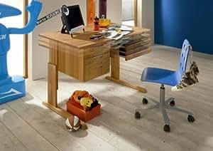 firstloft 205 0100 schreibtisch volo erle teilmassiv 120 x 75 x 70 cm ge lt. Black Bedroom Furniture Sets. Home Design Ideas