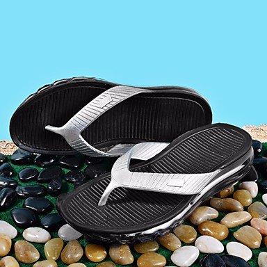 pantofole Infradito Stivali inverno delle donneCasual Sandali con zeppa tacco piuma sandali US10.5 / EU43 / UK9.5 / CN45