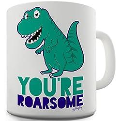 Trenzado Envy estás Roarsome taza de cerámica