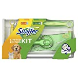 Swiffer Kit Limited Edition Scopa con 8 Panni Catturapolvere + Manico Duster con 1 Piumino
