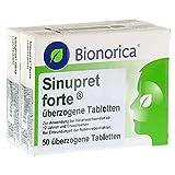 SINUPRET forte überzogene Tabletten 100 St Überzogene Tabletten