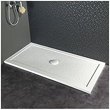 receveur de douche extra plat blanc poser rectangulaire 80x160 - Poser Un Receveur De Douche Extra Plat