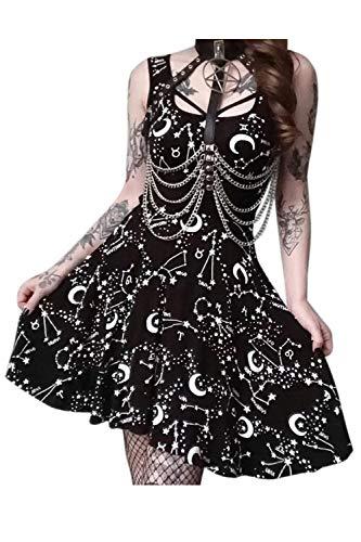 Vestido De Las Mujeres Vestido De Ajuste Y Flare Vestido Sin...