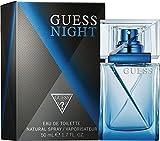 GUESS Night 50 ml - eau de toilette (Men, Grapefruit, Cedar wood,Geranium,Vetiver, Patchouli, Vanilla, Patchouli,Vanilla, Non-refillable bottle)