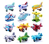 yeah6788612Kinder Kids Learning Bildung Holz Flugzeug Flugzeug Modell Mini Auto Toy
