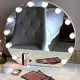 coflower Kit d'ampoules à LED pour miroir de maquillage pour le luminaire mural avec coiffeuse à réglage gradable