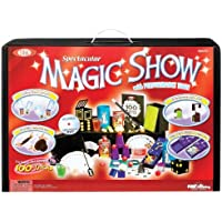 POOF-Slinky 0C4769 Ideal 100-Trick Spectacular Magic Show Suitcase with Instructional DVD Children, Kids, Game