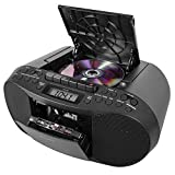 Sony CFDS70BLK CD/Cassette