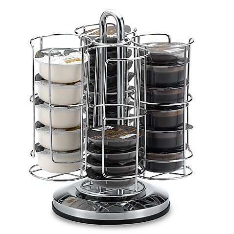 T-disc Carousel (40 Capacity Coffee T DISC Carousel, Chrome by Tassimo)