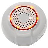 Cyrus SmartHome Sirene Z-Wave Plus (Sirena di allarme, Smart Home attuatore, casa controllo, installazione semplice)