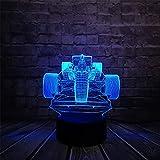 CFLEGEND 3D Night Lights Lampada Da Tavolo A Led Toy Lampada Da Tavolo Atmosfera Light Sleep Light Superman Character Cable Movie Gift Cartoon Girl Sleep Light