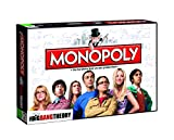 Winning Moves MONOPOLY The Big Bang Theory Edition mit 7 exklusiven Sammler-Figuren - Der Brettspiel-Klassiker trifft auf die Alltags-Helden aus The Big Bang Theory!