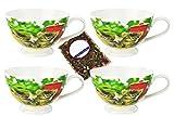 4latte caffè tazze Set con gatto bambini–Jameson & Tailor 4444+ campione tè