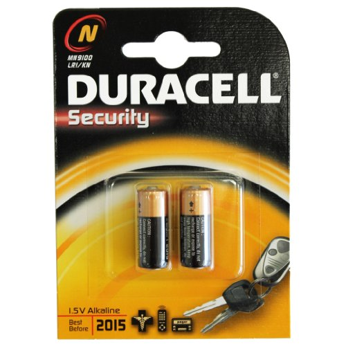 Galleria fotografica 8x batterie alcaline Duracell N LR1Mn9100micron Fox