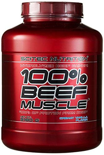 Scitec Nutrition Beef Muscle Vanille Sahne, 1er Pack (1 x 3,18 kg)