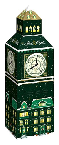 Nestlé After Eight Calendrier Big Ben Assortiment de Chocolats Fourrés à La Menthe 185 g
