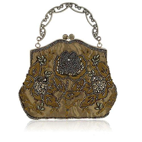 HT Evening Bag, Poschette giorno donna Field Green