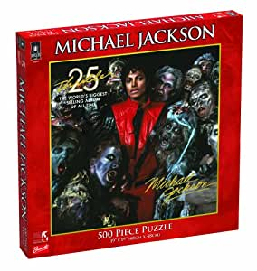 Michael Jackson 500 Piece Jigsaw Puzzle Thriller 25th Anniversary cover Michael Jackson (japan import)