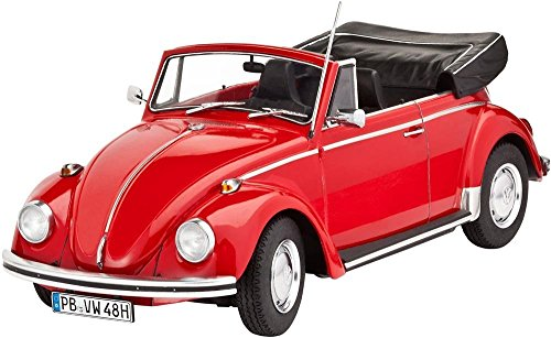 revell-07078-vw-beetle-cabriolet-1970-kit-di-modello-in-plastica-scala-124