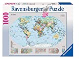 Ravensburger - Mapamundi político, Puzzle de 1000 Piezas (15652 8)
