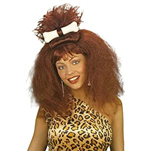 Ladies Caveman/Woman withBone Wig for Hair Accessory Fancy Dress