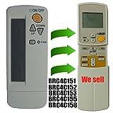 Repuesto de mando a distancia Daikin aire acondicionado en ventana o en pared;...