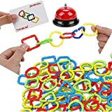 Image for board game Board Game for Kids, Ring Board Game Family Desktop Games Children Educational Toys Operation Game Popular Kids Toys Puzzle Toys Kids Educational Toys Operation Game For Kids