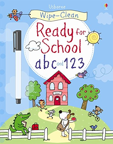 Get ready for school abc and 123 (Wipe-clean Books)