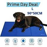 Lauva Tapis frais pour chien Animaux Dog Cool Mat, Chien Self Cooling Gel Mat Pads Pet Cat Cool Lits pour Caisses pour Chiens, Chat Chenils et lits - 36 'X 20'
