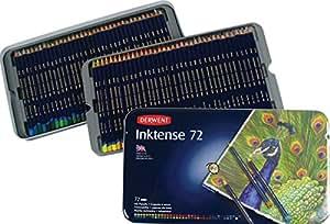 Derwent Inktense Watercolour Pencils Tin - Set of 72