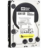 Western Digital WD5003ABYX - Disco duro interno de 500 GB (7200 rpm, 8,8 cm (3,5 pulgadas)), color plateado y negro