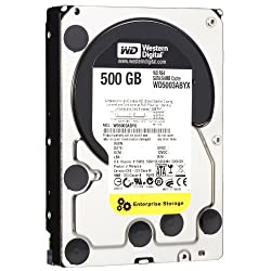 WD RE4 500 GB Enterprise Hard Drive 3.5 Inch 7200 RPM SATA II 64 MB Cache WD5003ABYX Old Model
