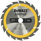 Dewalt DT1933Circular SAEGE Blade Handkr. 165/20mm 18WZ)