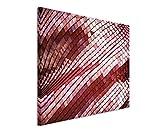Paul Sinus Art Kunstfoto auf Leinwand 60x40cm Künstlerische Fotografie – Dachziegel in der Sonne auf Leinwand Exklusives Wandbild Moderne Fotografie für Ihre Wand in Vielen Größen