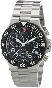 Victorinox Swiss Army Men's Watch XL Active Chronograph Stainless Steel 241337