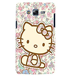 Citydreamz Hello Kitty/Cartoon/Dots/Cute Design Hard Polycarbonate Designer Back Case Cover For Samsung Galaxy J7 2016 /J76/J710
