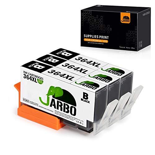 JARBO (3 Nero) Compatibile HP 364 XL Cartucce d'inchiostro Compatibile con HP Photosmart 5510 5511 5512 5514 5515 5520 5522 5524 6510 6520 6512 6515 7510 7520 7515 B8550 B8558 C5370 C5373 C5324 C6388 D5460 D5463 B110a B110c B010a B010b B111a B109a B109b C309a C309c B209a B210a HP Deskjet 3070A