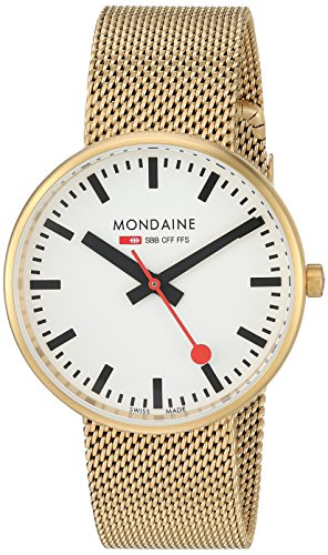 Mondaine Orologio al Quarzo Unisex Mini Giant 35 mm