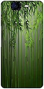 Snoogg Bamboo Designer Protective Back Case Cover For Micromax Canvas Knight A350