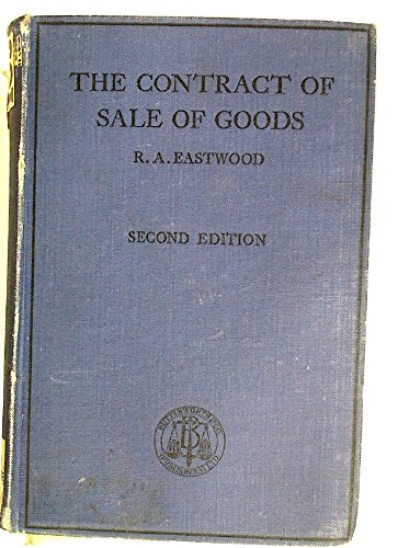 The Contract of Sale of Goods. Second Edition.
