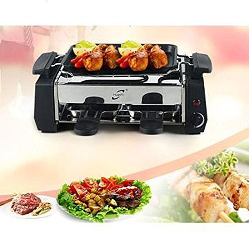 Cherry Deluxe Huan Yi Compact Electric Barbecue Grill And Tandoor  available at amazon for Rs.1200