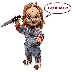 "Muñeco Parlante ""Child's Play Chucky/Muñeco Diabólico"" Gran Escala de 15"""