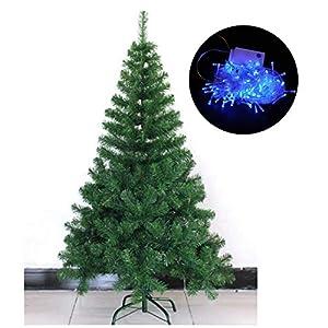 3a54b65b04a51 Árbol de Navidad Artificial Árbol con Luces Árbol con Tira de Leds y  Soporte Metálico ...