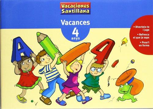 Vacances 4 Anys Grup Promotor - 9788479115319
