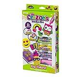 CRA-Z-ART Gels Set decoración 3D Pop Colors y 4 Botes Gel de Colores,...
