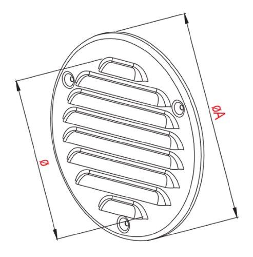 Kreis Gehaltstabelle Aufschlüsselung Deckung 125mm (5