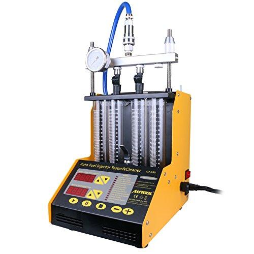 Autool CT150 Ultrasonic, mini tester da auto per iniettore di carburante, strumento pulente per iniettore di benzina, tester e strumento pulente per iniettore